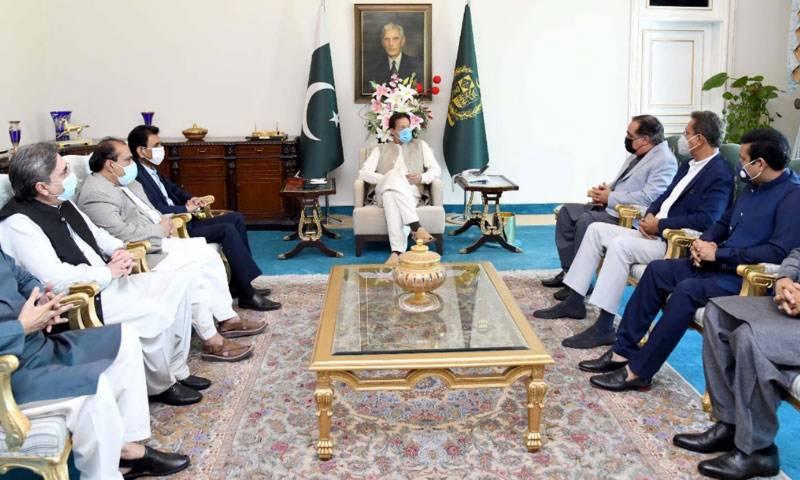 وزیراعظم سے ایم کیو ایم کے وفد کی ملاقات، کراچی کے مسائل پر گفتگو