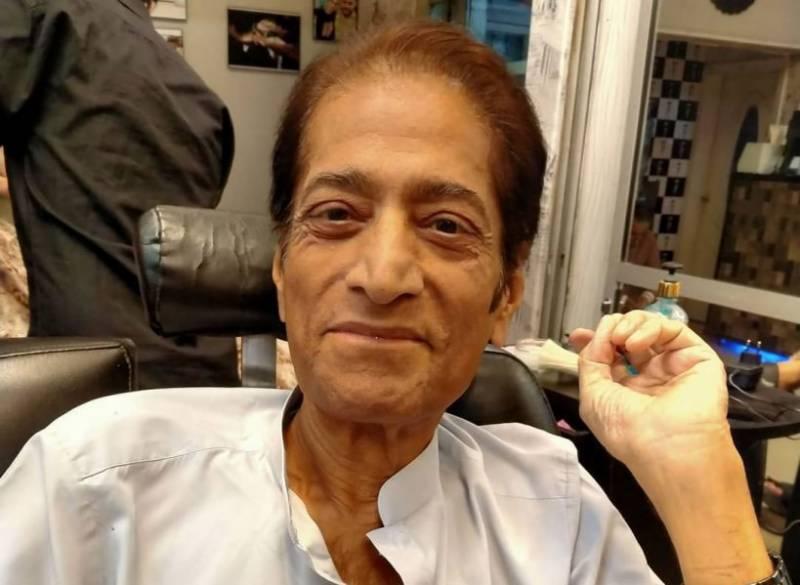 سینیئر اداکار انور اقبال کی طبیعت ناساز، ہسپتال میں منتقل