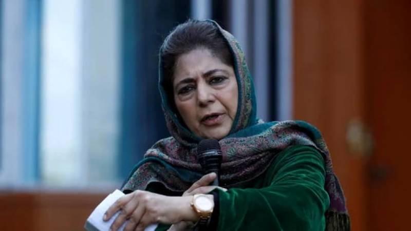 قیام امن کے لیے بھارت کو پاکستان سے مذاکرات کرنا ہوں گے، محبوبہ مفتی