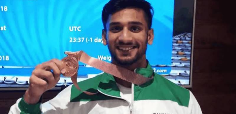 سپیرئیر کالج کے طالب علم طلحہ طالب کی اولمپکس میں انٹری