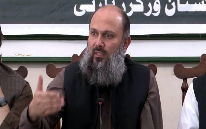 عثمان کاکڑ کی موت کے حوالے ہر طرح کی تحقیقات کرانے کی پیشکش کی ہے: وزیراعلیٰ بلوچستان