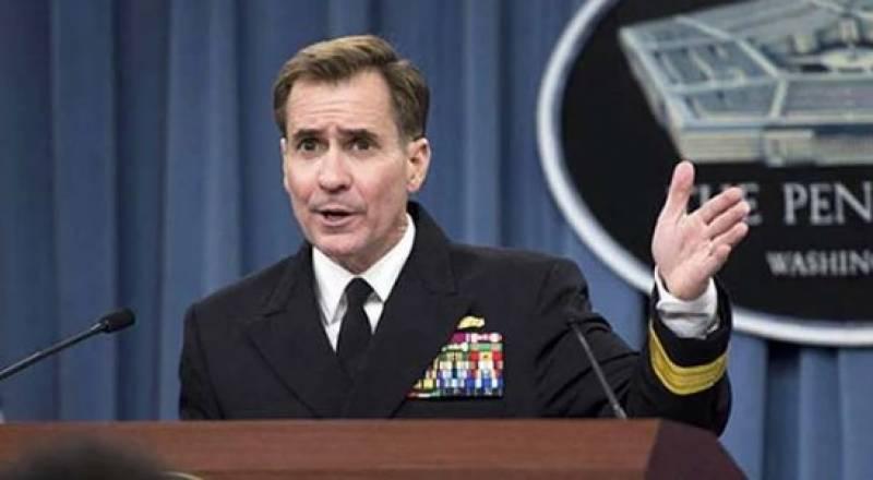 افغانستان سے انخلا کے باوجو د مختصر امریکی فوج وہاں موجود رہے گی ، امریکی ترجمان