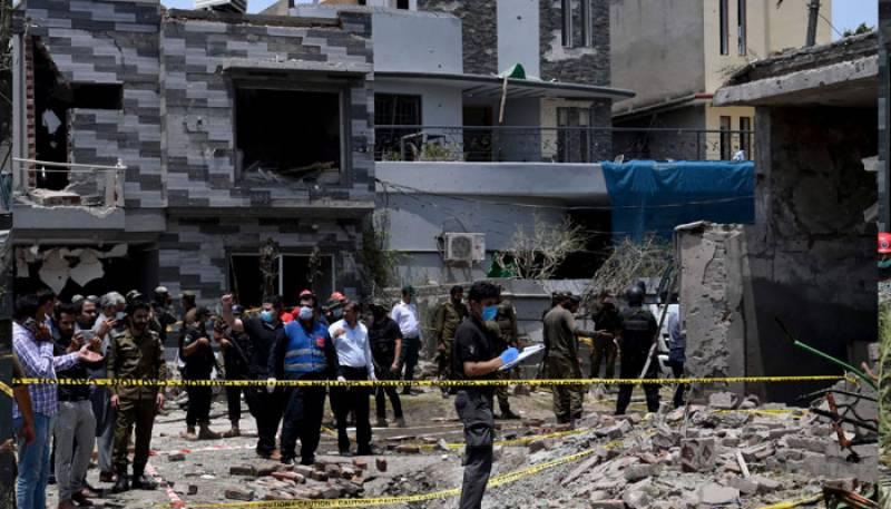Lahore Johar Town Blast,India Raw