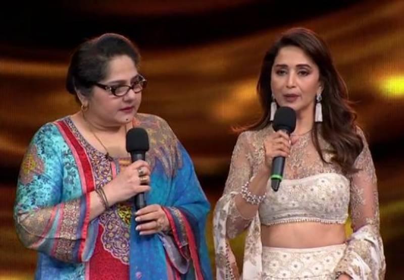 مادھوری ڈکشت کا ایثار، مسلما ن ٹی وی اداکارہ شگفتہ علی کو 5 لاکھ دے دیئے