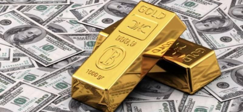 امریکی ڈالر 16 پیسے سستا، سونے کی فی تولہ قیمت میں کمی