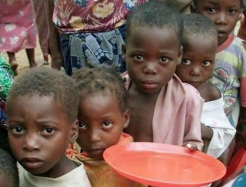 دنیا بھر میں ایک منٹ میں بھوک سے 11 افراد مرجاتے ہیں ، تحقیق