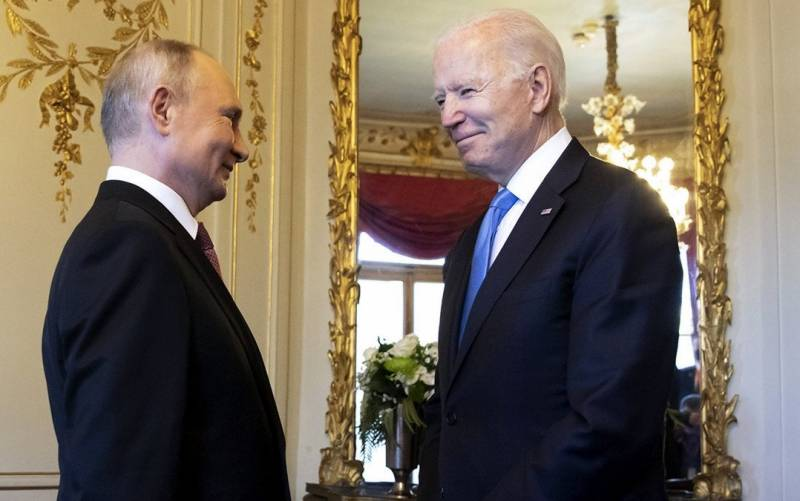 امریکی صدر جوبائیڈن اور روسی صدر ولادی میر پیوٹن کے درمیان ٹیلی فونک رابطہ