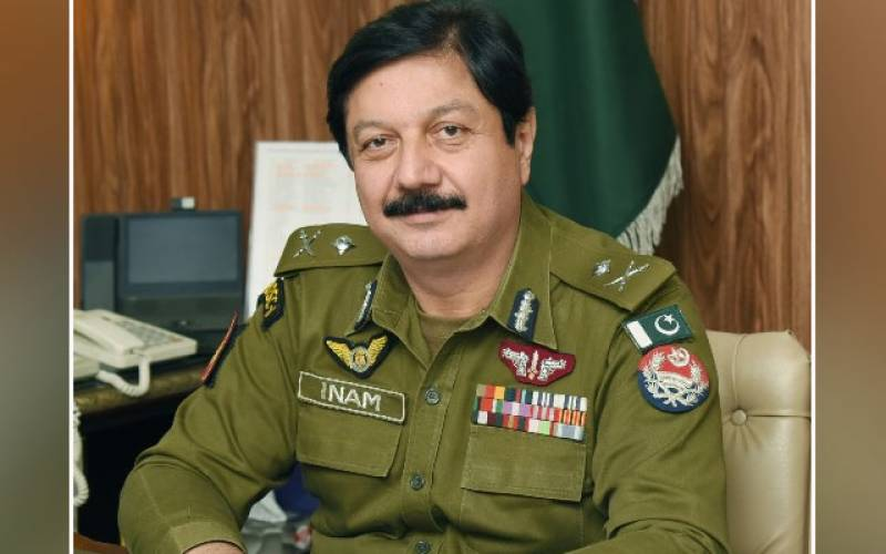 IG Punjab, Lahore, 50 police officers, CM Punjab government