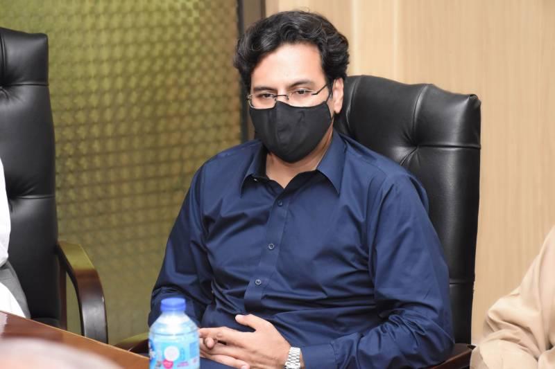 مونس الہٰی کو وزارت آبی وسائل کا قلمدان سونپ دیا گیا