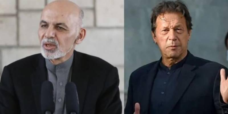عمران خان نے افغان صدر کے الزامات کو مسترد کردیا