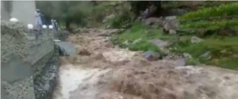 پشاور میں حالیہ بارشوں اور سیلاب سے 13 افراد زندگی کی بازی ہار گئے