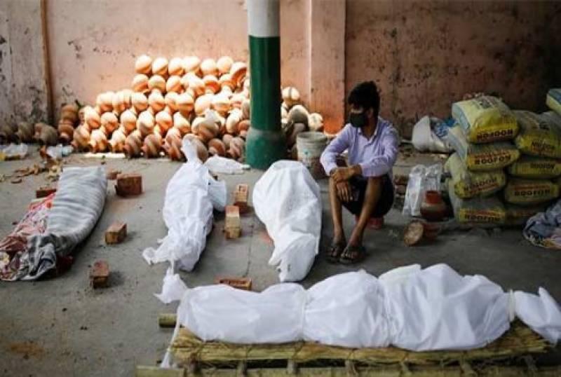 بھارت میں کورونا سے 47 لاکھ افراد موت کے منہ میں جاچکے ہیں ، امریکی رپورٹ