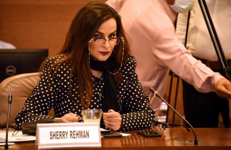 وفاقی وزیر الیکشن کمیشن کے حکم کی دھجیاں اڑا رہے ہیں: شیری رحمان