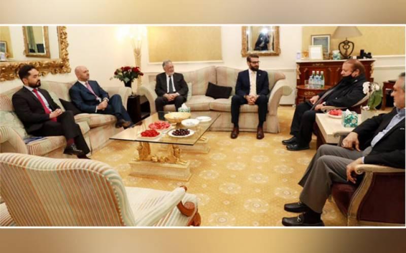 Afghan Security Advisor, Hamdullah Mohib, Sayed Sadat Naderi, Nawaz Sharif, London, mutual interest