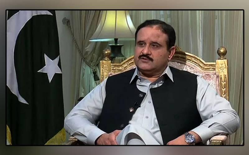 PTI, government, Azad Kashmir, people's support, Punjab Chief Minister, Usman Buzdar