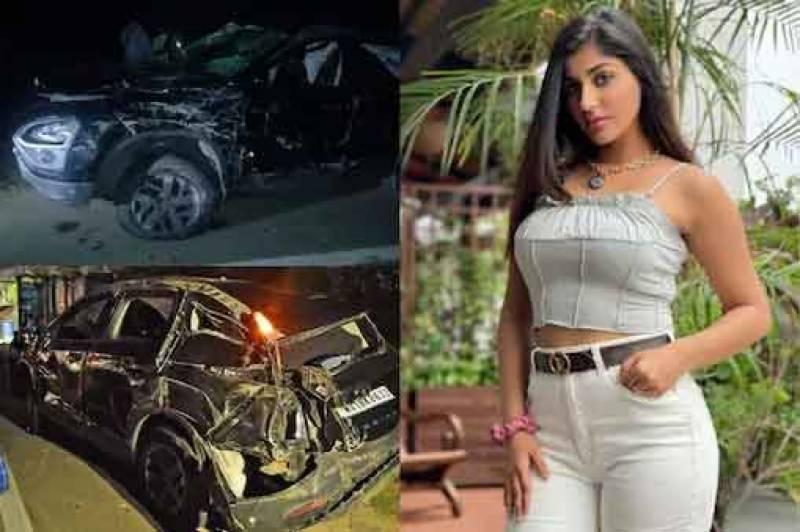 بھارتی اداکارہ یاشیکا آنند کار حادثے میں شدید زخمی
