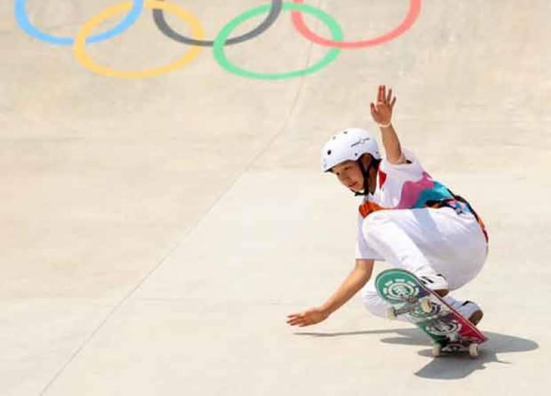 ٹوکیو اولمپکس میں 13سالہ بچی نے سونے کا تمغہ جیت لیا