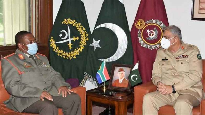 جنوبی افریقا کے ساتھ پاکستان تعلقات کو خصوصی اہمیت دیتا ہے، آرمی چیف
