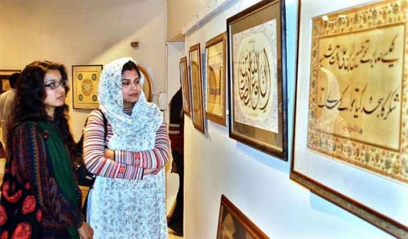 ملکی تاریخ کی سب سے بڑی مصوری کی نمائش یکم اگست کو لاہور میں ہو گی