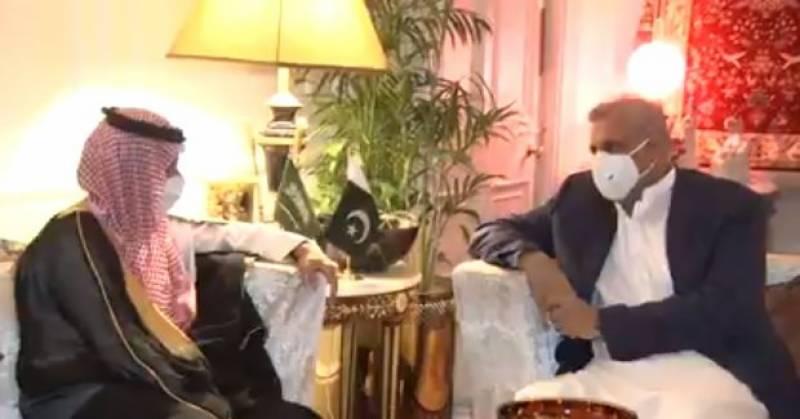 آرمی چیف سے سعودی وزیرخارجہ کی اہم ملاقات