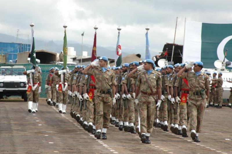 پاک فوج کے زیر اہتمام کانگو میں