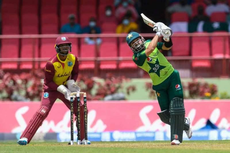 پاکستان نے ویسٹ انڈیز کو دوسرے ٹی ٹوئنٹی میں شکست دے دی