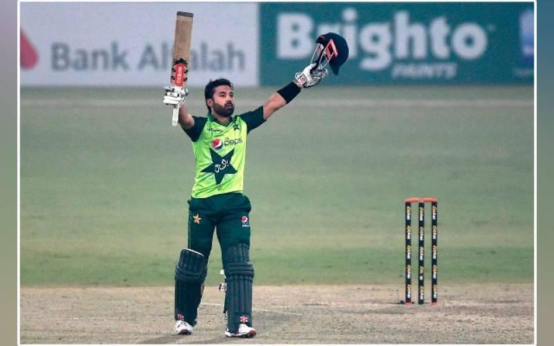 Muhammad Rizwan, record, most runs, one year, Pakistan, PCB