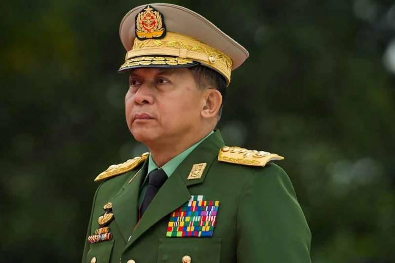 میانمار، آرمی چیف نے وزیراعظم کا عہدہ سنبھال لیا