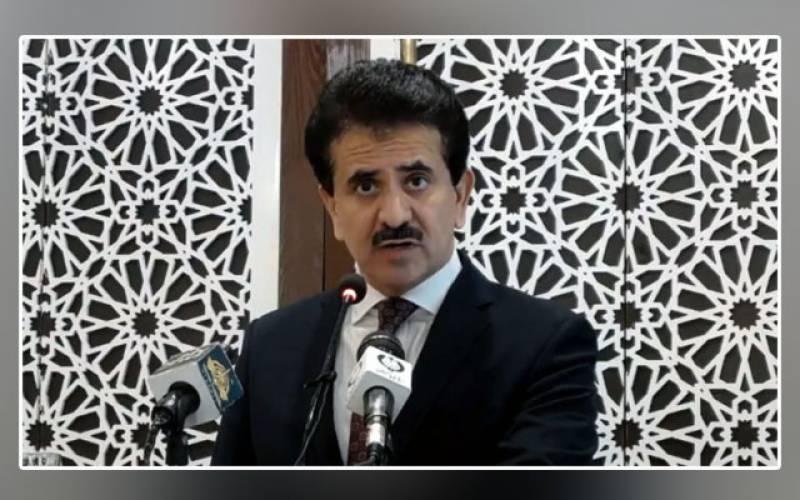 Foreign Minister, spokesperson, Zahid Hafeez Chaudhri, Shah Mahmood Qureshi, Afghanistan