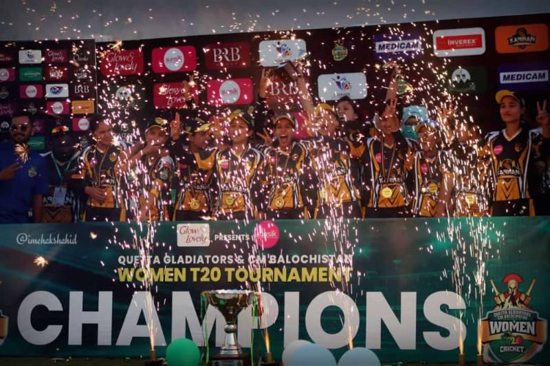 Khyber Pakhtunkhwa, Quetta Gladiators, CM Balochistan, Women Cricket Tournament