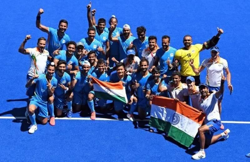 بھارتی ہاکی ٹیم نے ٹوکیو اولمپکس میں کانسی کا تمغہ جیت لیا