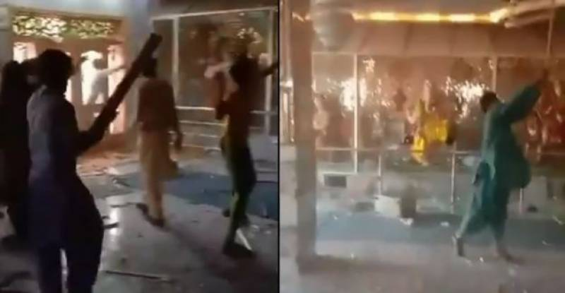 وزیراعظم نے رحیم یار خان میں مندر پر حملے کا نوٹس لے لیا