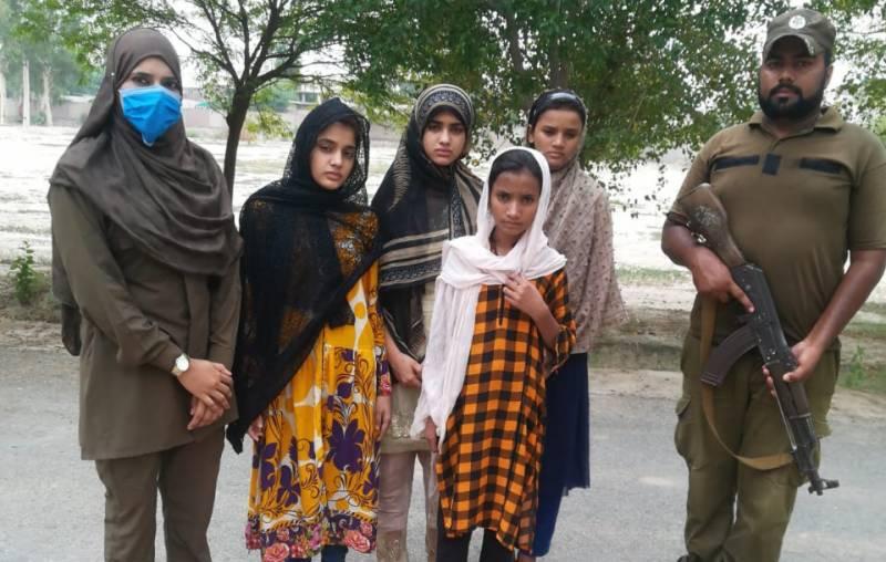 ملزم نے نشہ آور مشروب پلایا، ساہیوال میں غلط کام کرنے والی لڑکی سے ملوایا: مغوی لڑکیاں