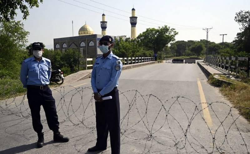 اسلام آباد کے 15 علاقوں میں سمارٹ لاک ڈاؤن نافذ