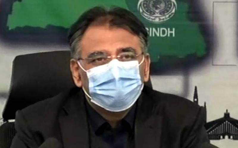 آزاد کشمیر انتخابات نے کورونا وائرس پھیلانے کا کام کیا: اسد عمر