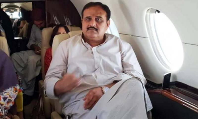 وزیرا علیٰ پنجاب کا سوڑا ڈیم کی سائٹ کا فضائی دورہ
