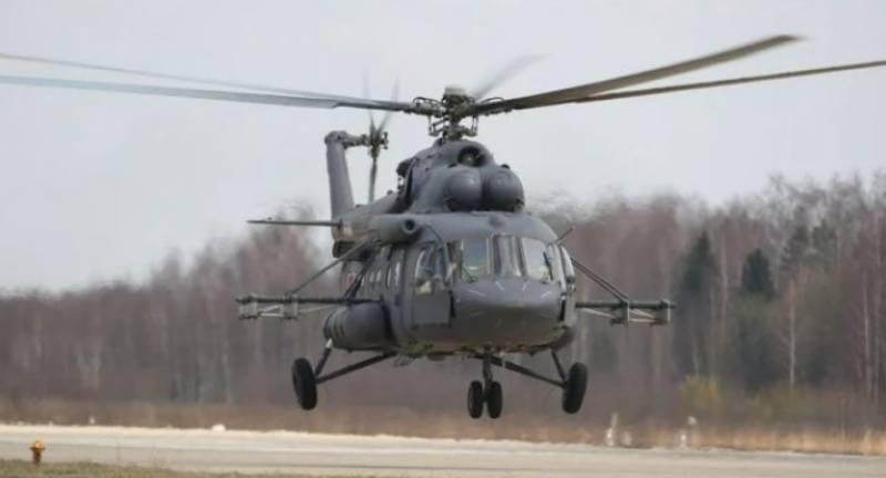 روسی ہیلی کاپٹر جھیل میں جاگرا ، 7 افراد لاپتہ