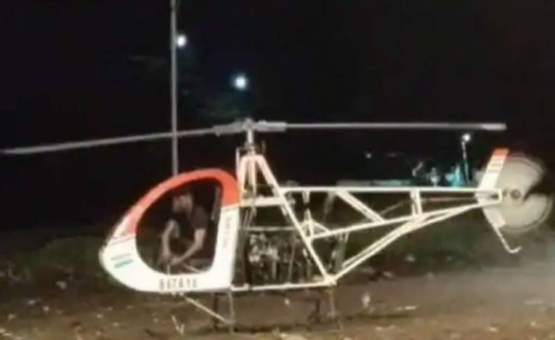 بھارتی سائنسدان اپنے ہی بنائے ہوئے ہیلی کاپٹر کے بلیڈ سے ہلاک ہوگیا