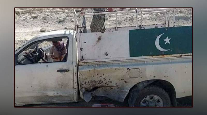 Security forces vehicle hit a landmine in Balochistan, Pakistan Army Captain Kashif martyred