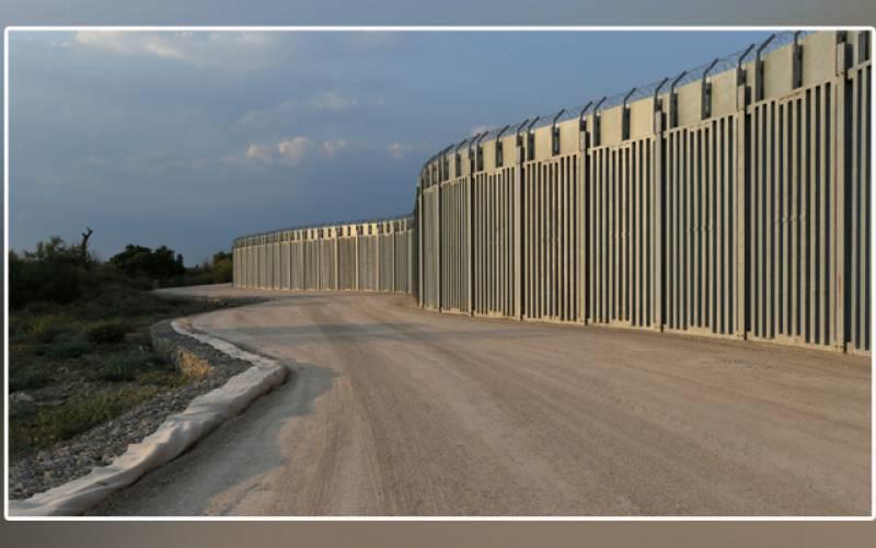 Greece, 40km wall, Turkish border, Afghan refugees, Pakistan