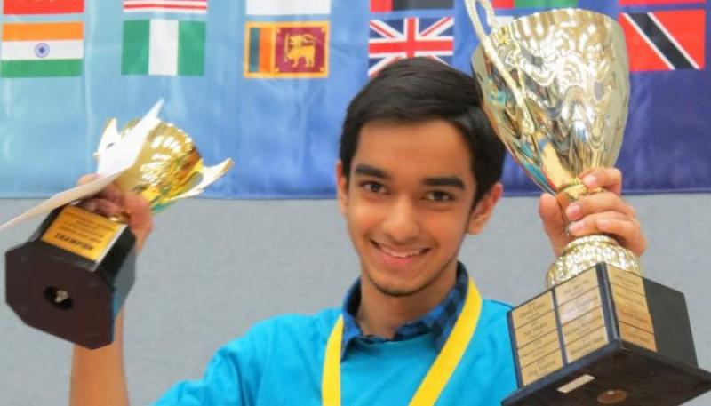 پاکستان کے عماد علی نے ویسپا کے یوتھ کپ کا فائنل جیت لیا