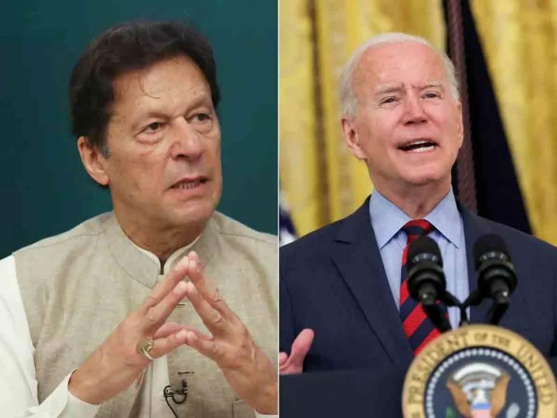 جوبائیڈن کو پاکستانی وزیراعظم سے بات کرنی چاہئے ، امریکی دانشور