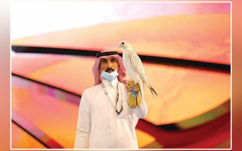 International Falcon Breeders Auction, rare-breed, record-breaking, Saudi auction