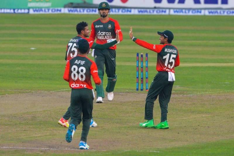 نیوزی لینڈ کو ایک اور شکست، بنگلہ دیش کی ٹی ٹوئنٹی سیریز میں برتری