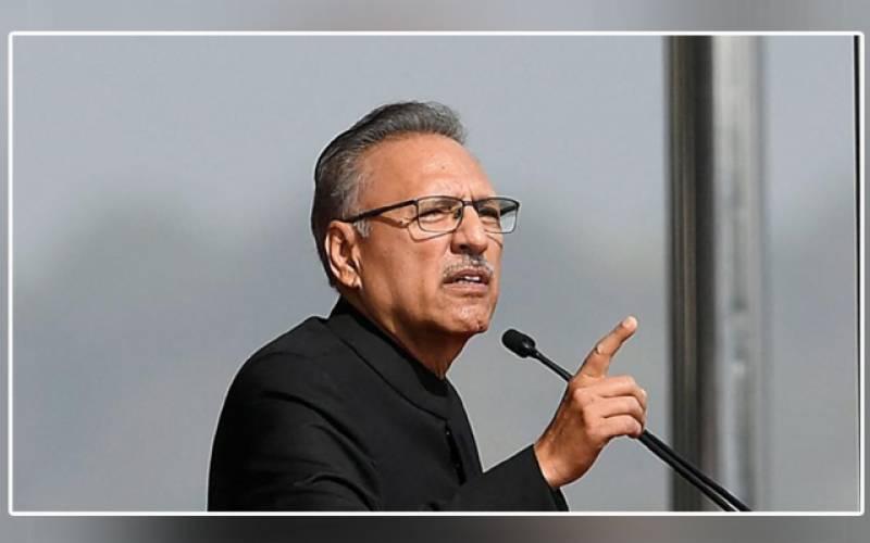 Defense Day is a symbol of courage, bravery, devotion to patriotism: President Arif Alvi