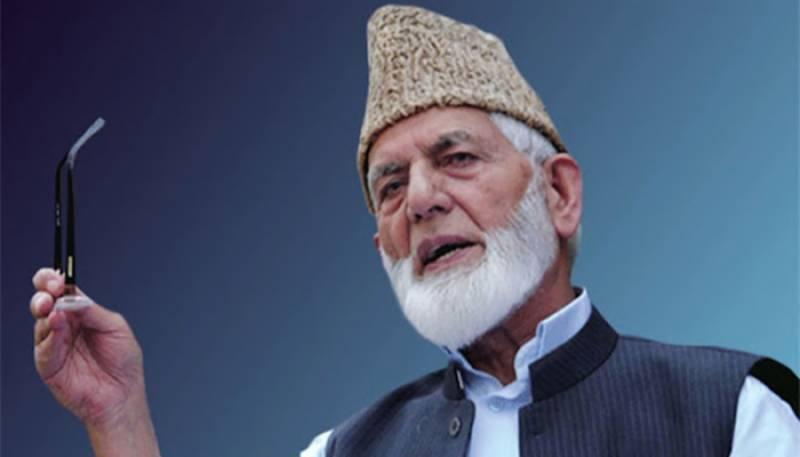 Sayed Ali Gilani,Kashmir,POK,