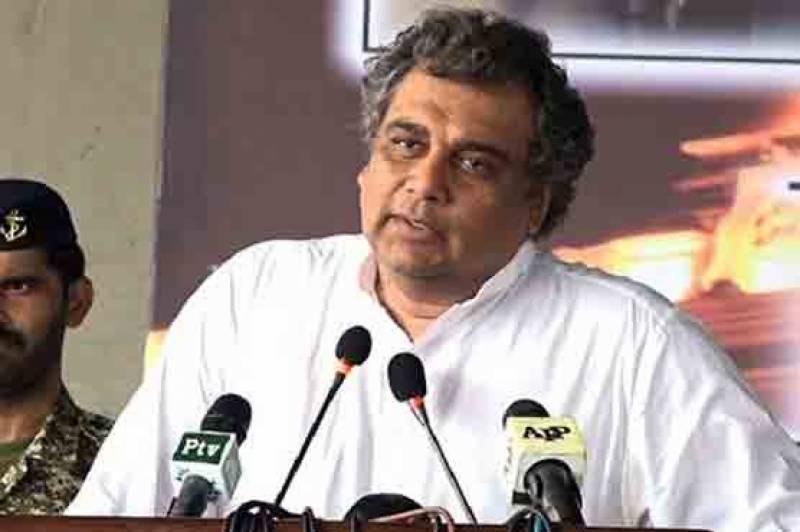 الیکشن کمیشن کو چیلنج کرتا ہوں دورہ کیے گئے پولنگ اسٹیشن کا نام بتائے، علی زیدی
