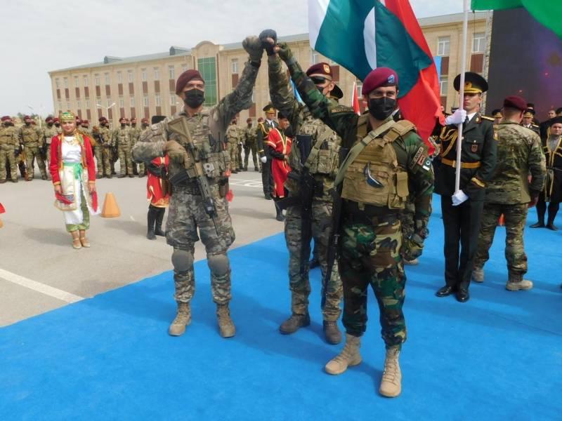 پاکستان ، آذربائیجان اور ترکی کی مشترکہ مشقیں شروع
