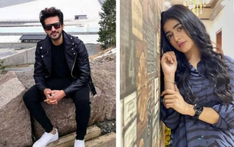 اداکار عدیل چوہدری اور سحر خان حادثے سے بچ گئے