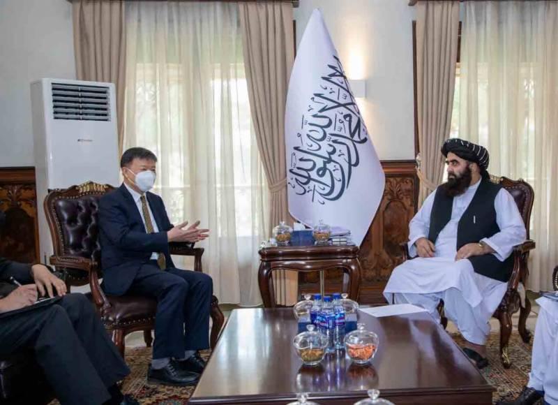 چین نے طالبان حکومت کے لئے امداد کا اعلان کر دیا